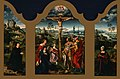 Joos van Cleve - Triptych- The Crucifixion Flanked by the Kneeling Donor and His Wife - Google Art Project.jpg