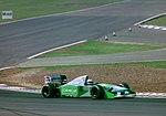 Jos Verstappen - Benetton 194 at the 1994 British Grand Prix (31697655434).jpg