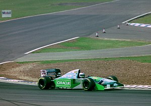 Benetton B194 - Jos Verstappen driving the B194