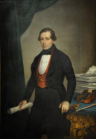 Joseph Lanner - Joseph Lanner, c. 1840