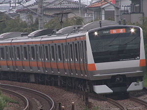 Chūō Line (Rapid) - E233 series on Rapid service