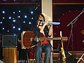 Julia Sleeps At the Kitchen 2009 - solo concert 04.jpg