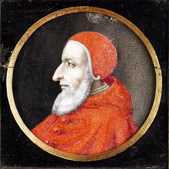 Spanish conquest of Iberian Navarre - Pope Julius II, died in the wake of his Pastor Ille Caelestis bull, written at the Chancery of Aragon in Rome