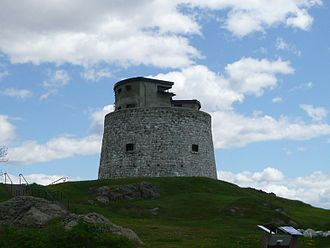 History of Saint John, New Brunswick - Carleton Martello Tower
