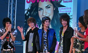 K-Otic - (Left to right) Setsuwan, Park, Chiragun, Taiyanonnt and Tsuchiya