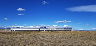 Rocky Mountain Metropolitan Airport - The Pilatus Aircraft Hangar at Rocky Mountain Metropolitan Airport (BJC) in Broomfield, Colorado.