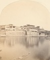 KITLV 100512 - Unknown - Building on a river in British India - Around 1870.tif
