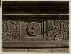 KITLV 28286 - Isidore van Kinsbergen - Relief with part of the Ramayana epic on the north side of Panataran, Kediri - 1867-02-1867-06.tif