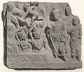KITLV 88031 - Unknown - Gandhara relief from a stupa from Yusufzai in British India - 1897.tif