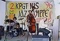 KPGT - 96 Branko Markovic (kontrabas), Ognjen Radivojevic (klavir), Petar Radmilovic (bubnjevi) 01.jpg