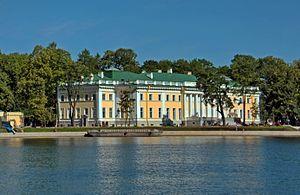 Kamenny Island Palace - The palace in 2016