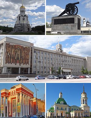 Kamensk-Uralsky - Image: Kamensk Uralsky photo collage