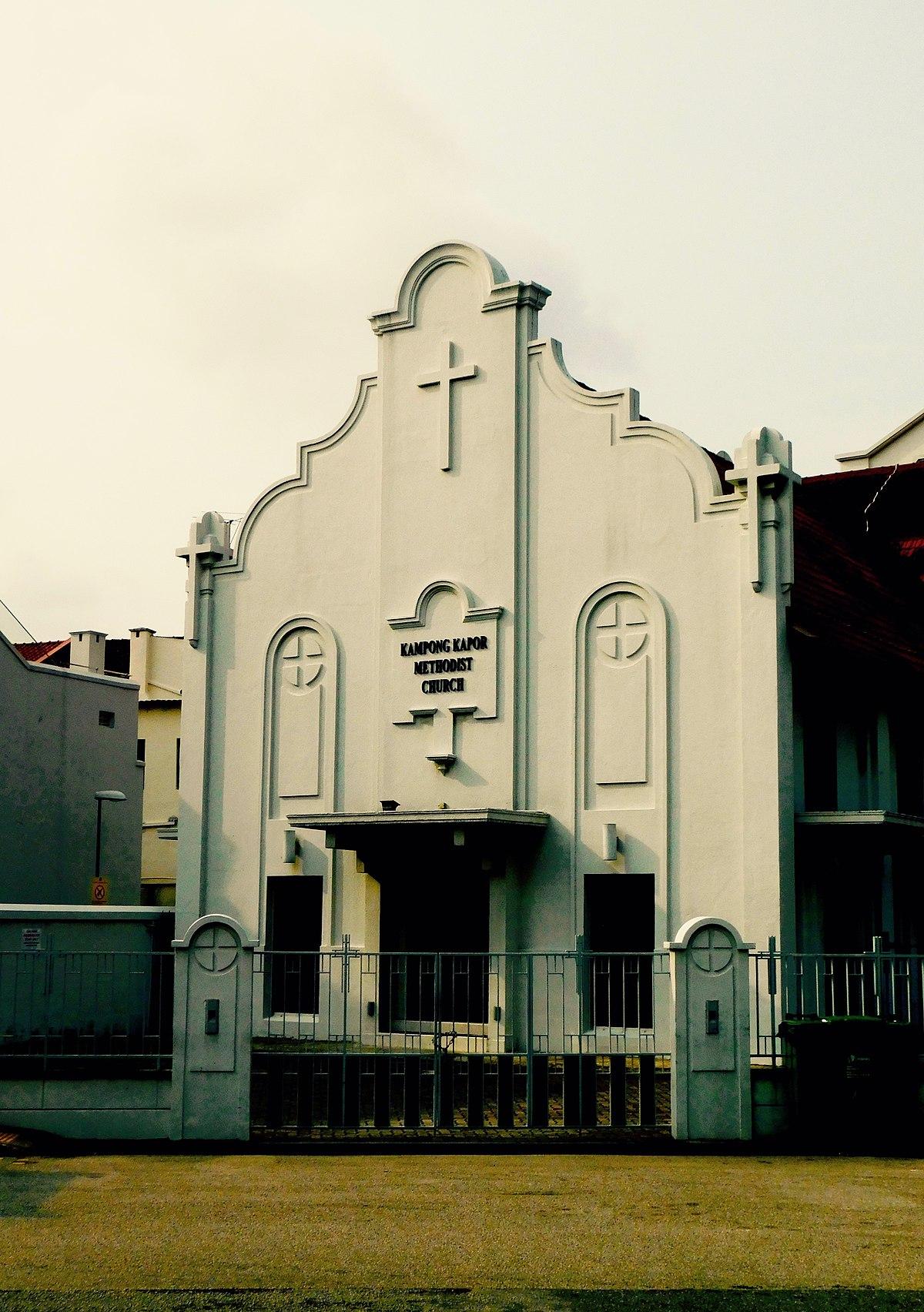 kampong kapor methodist church wikipedia