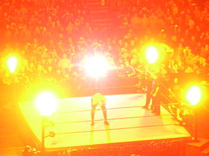 SummerSlam (2007) - Kane performing his signature entrance routine before his match against Finlay