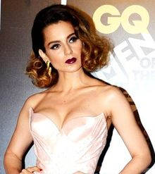 Kangna Ranaut at GQ men awards 2016.jpg