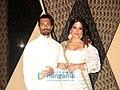 Karan Singh Grover & Bipasha Basu, Mukesh Bhatt's daughter Sakshi Bhatt's wedding reception (20).jpg
