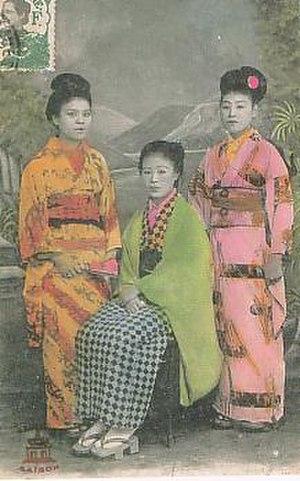 Karayuki-san - Karayukisan in Saigon, French Indochina