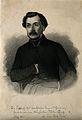 Karl Ernst Bock. Line engraving by G. Planic, 1857. Wellcome V0000608.jpg