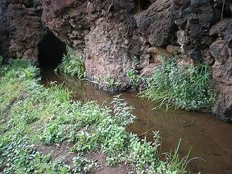 Kikiaola - Image: Kauai Waimea Menehune ditch tunnel