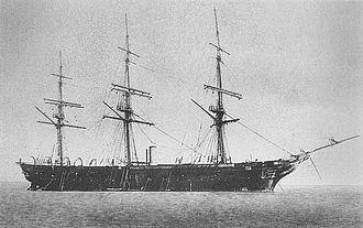 Japanese frigate Kaiyō Maru - Image: Kayo Maru
