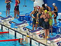 Kazan 2015 - Australia to win 4×100 metres freestyle relay W.JPG