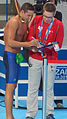 Kazan 2015 - le Clos after his 100m butterfly win.jpg