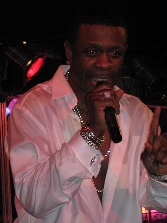 Keith Sweat - Sweat performing in 2009
