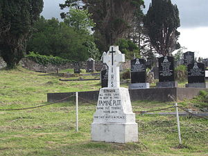 Kenmare - Mass famine grave for Kenmare victims