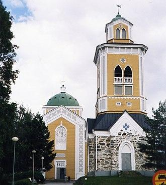 Southern Savonia - Image: Kerimäki church