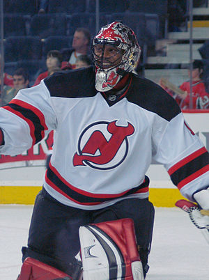 Kevin Weekes - Weekes with the New Jersey Devils