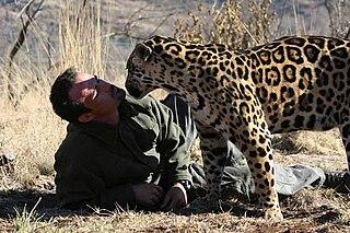 South African animal behaviourist