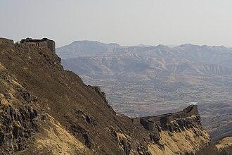 Torna Fort - Image: Kille torna zunjar machi