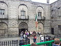 Kilmainham Gaol Entrance with tourists.jpg
