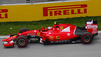 Ferrari SF15-T - Kimi Räikkönen driving the SF15-T during the 2015 Canadian Grand Prix