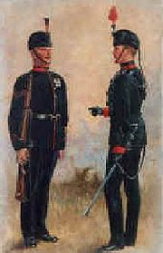 King's Royal Rifle Corps by Harry Payne