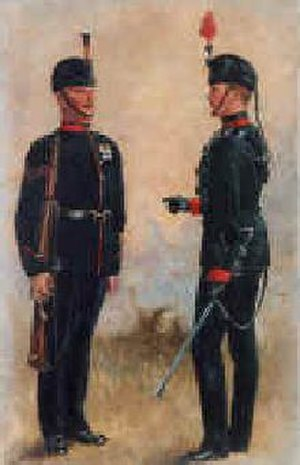 King's Royal Rifle Corps - King's Royal Rifle Corps c. 1895-1914 by Harry Payne (1858–1927)