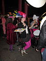 Kingcake Tumble 2014 Frenchmen Queen Cake.JPG