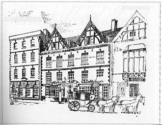 Kings Head Hotel, Monmouth - King's Head ca1900