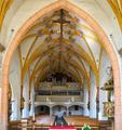 Kirche Mariä Himmelfahrt Rotthalmünster 02 Blick zur Empore.png