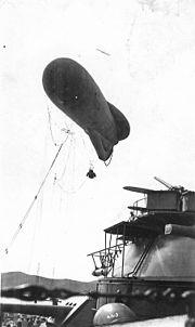 Kite Balloon From USS Arizona