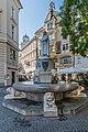 Klagenfurt Dr.-Arthur-Lemisch-Platz Spanheimerbrunnen SO-Ansicht 08082016 3584.jpg