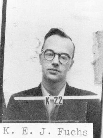 Klaus Fuchs ID badge