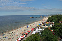 Kołobrzeg, Strand, a (2011-07-26) by Klugschnacker in Wikipedia.jpg
