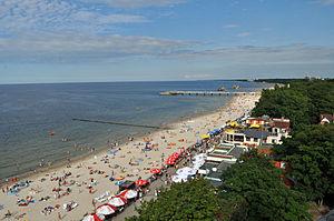 Strand von Kołobrzeg