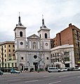 Kościół św św Teresy i Izabeli w Madrycie, fasada.JPG