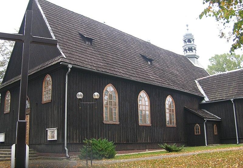 Drewniany kościół św. Marcina w Żytniowie