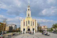 Kościół Najczystszego Serca Maryi plac Szembeka w Warszawie1 2014.JPG