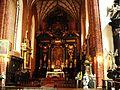 Konkatedra w Chełmży-ołtarz główny w prezbiterium.JPG