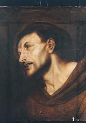 Kopf des hl. Franziskus, um 1619 (Quelle: Wikimedia)