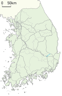 Daegu Line railway line